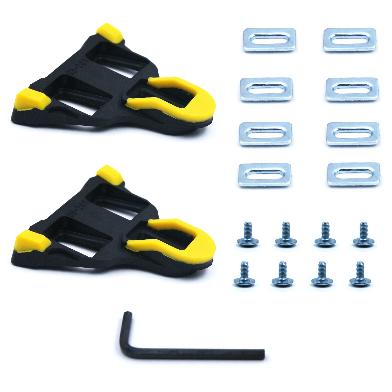 ea44b7e46872 Loosco Road Bike Cleats 6 Degree Float Self-locking Cycling Pedals Cleat  For Shimano SH
