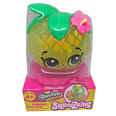 Shopkins Squeezkins Pineapple Crush Squeezable Gel Figure: Toys & Games [5Bkhe0306742]