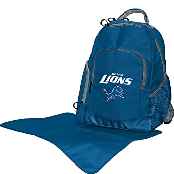 a6daed17 Lil Fan NFL Diaper Backpack Collection, Detroit Lions