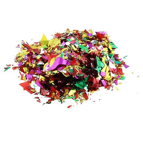 Amazon 1 bag colorful wedding festival birthday party 1 bag colorful wedding festival birthday party supplies foil confetti spirnkles junglespirit Gallery