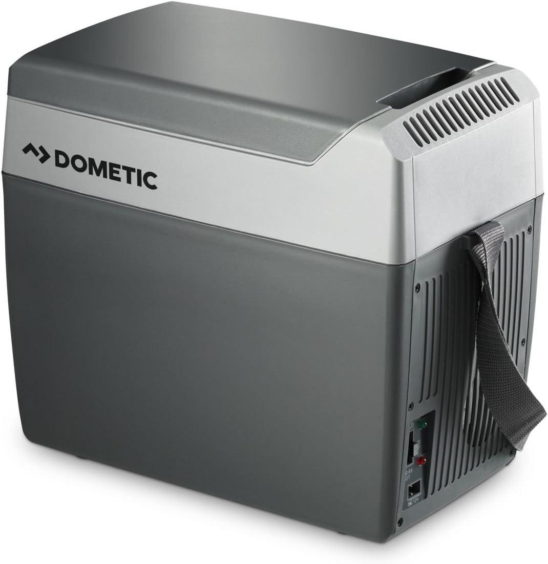 Dometic Tropicool TC 07 - Nevera termoeléctrica portátil, conexiones 12 / 230 V, 7 litros de capacidad, clasificación energética A++