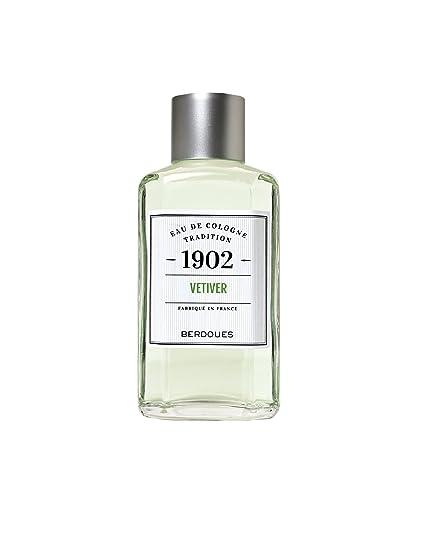 1902 Vetiver Eau De Cologne Tradition Splash 8.3 Oz / 245 Ml von Berdoues für Männer