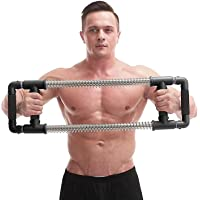 FITSY Power Twister - Chest Expander, Super Push Down Bar - Complete Upper Body Workout Equipment, Arm and Shoulder Builder, Core Strength Training, Home Gym