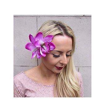 les clients d'abord belle qualité acheter de nouveaux Starcrossed Boutique double Rose Violet Fleur d'orchidée ...