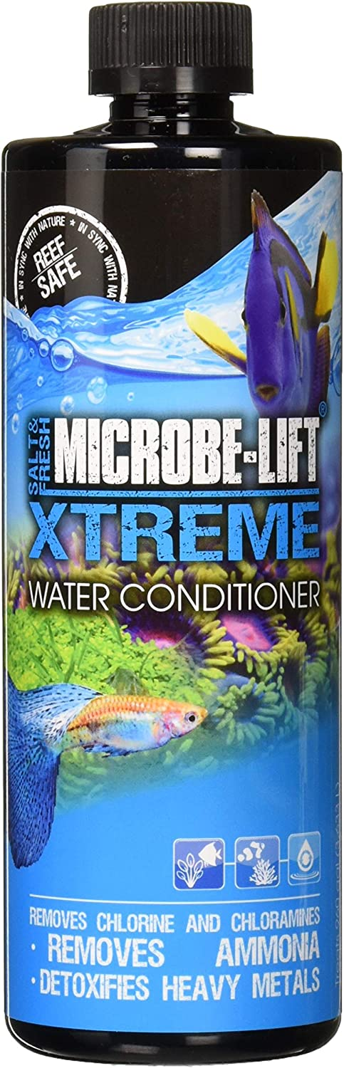 Microbe-Lift Xtreme for Salt and Fresh Water Home Aquariums