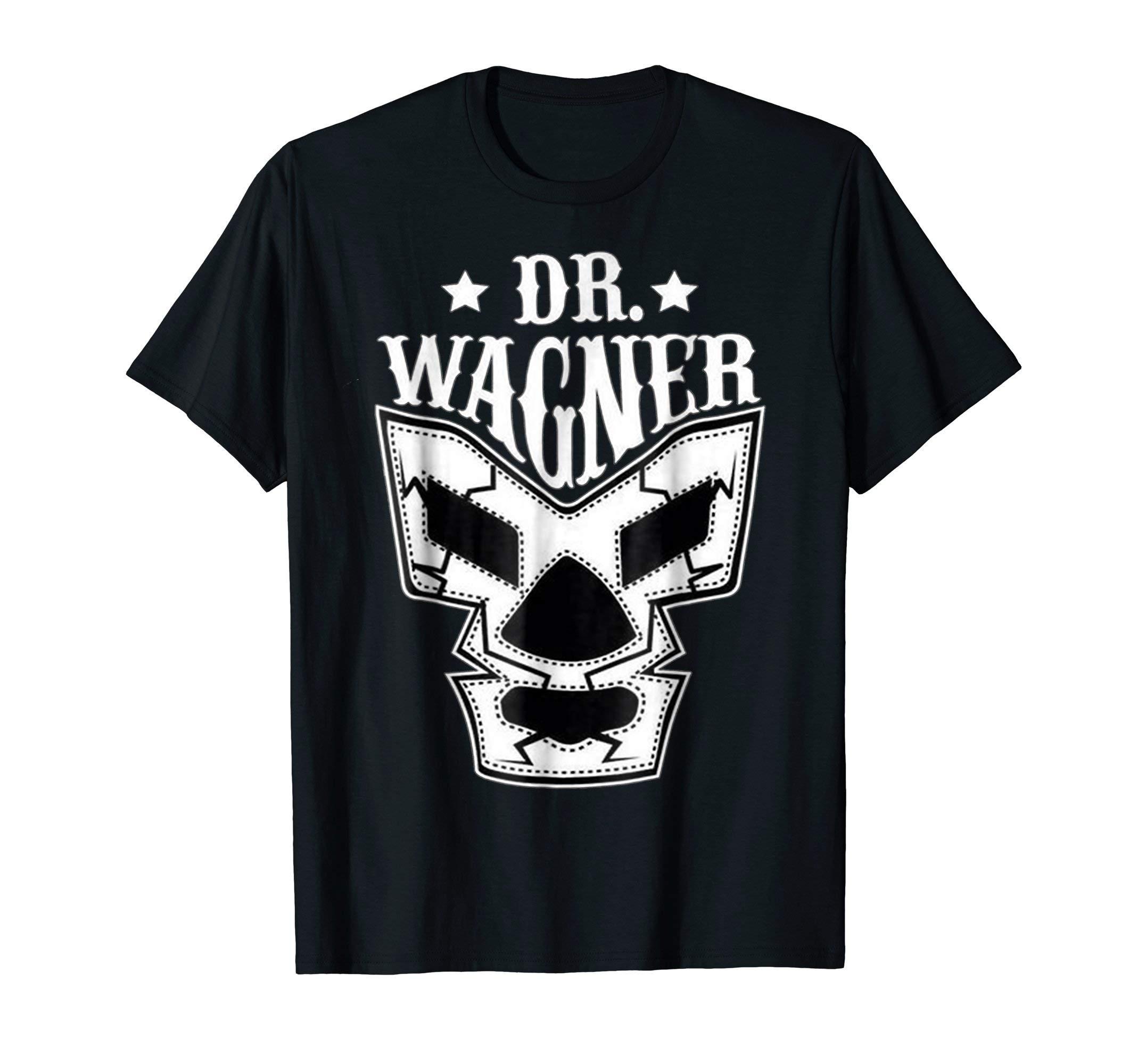 DR WAGNER REY WAGNER LUCHA LIBRE WRESTLING MEXICAN LEGEND by DR WAGNER LUCHA LIBRE WRESTLER KING WAGNER T-SHIRT