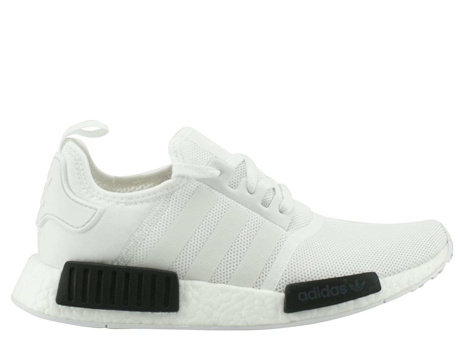 Adidas Originals NMD_R1 White Mesh Trainers