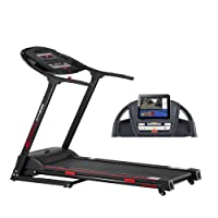 Smooth Fitness 5100e Plus Laufband - Connect+ App Steuerung, 42x125cm Lauffläche, Elektronische Neigungswinkelverstellung 0-12%, 36 Programme, Herzfrequenz-Training