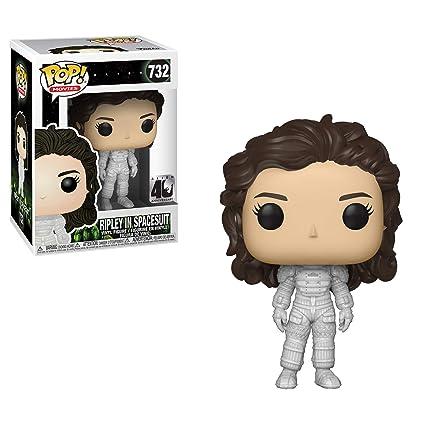 b4ad7f603654a Amazon.com  Funko POP! Movies  Alien 40th - Ripley in Spacesuit ...