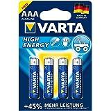 Varta Batterien HIGH ENERGY - Micro/LR03/AAA, 1,5 V