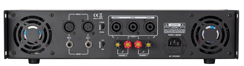 Amplificador profesional gemini 5000w 2x550 wrms (: Amazon.es ...