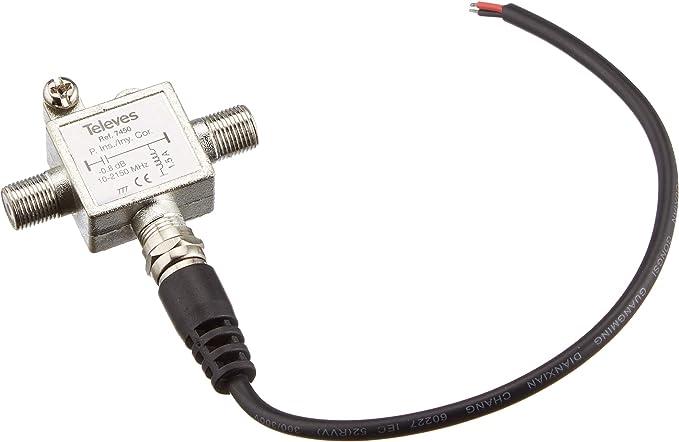 Televes 7450 - Inyector tensión vdc 10-2150mhz