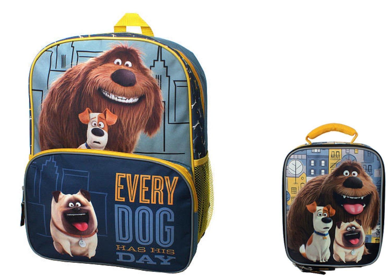 代引き手数料無料 [AI]AI The & Secret Life Of Pets 6794833 Secret Backpack & Lunch Bag Set 6794833 [並行輸入品] B01HP63440, 立科町:daf82c8b --- mail.mrplusfm.net