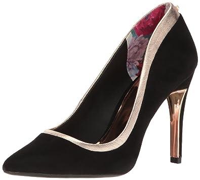 63e2c62f1508 Amazon.com  Ted Baker Women s Sayu Sued AF Formal Shoe  Shoes