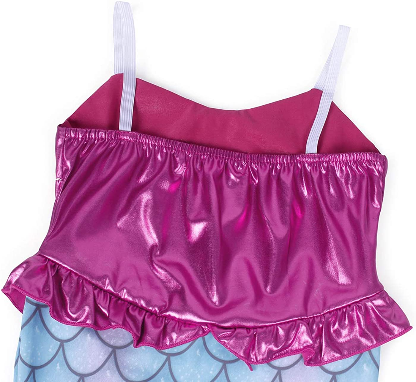 AmzBarley Girls Princess Mermaid Costume Outfits Halloween Party Birthday Sequins Strappy Dress