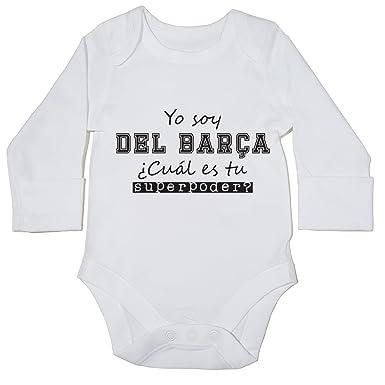 HippoWarehouse Soy del Barça, ¿Cuál es tu Superpoder? body manga larga bodys pijama niños niñas unisex: Amazon.es: Ropa y accesorios