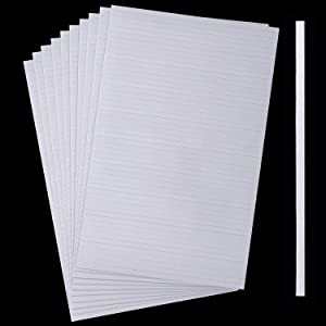500 Pieces Double Sided Foam Sticky Strips Dual-Adhesive 3D Foam Tapes Foam Pop Strips Adhesive Mount for Shaker Card, Scrapbooking or Office Supplies (5.9 Inch)