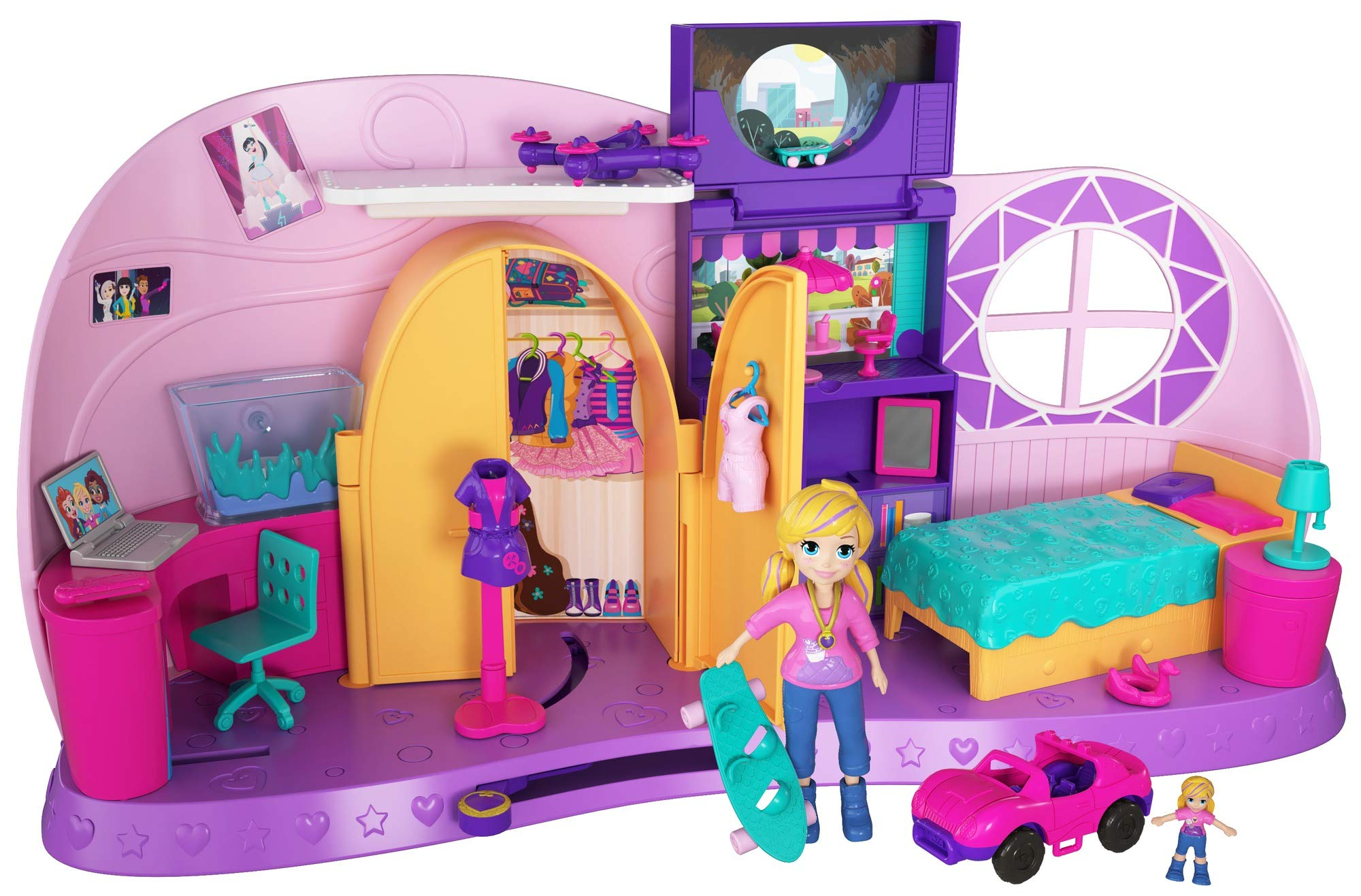 Polly Pocket Transformation Playset by Mattel (Image #1)