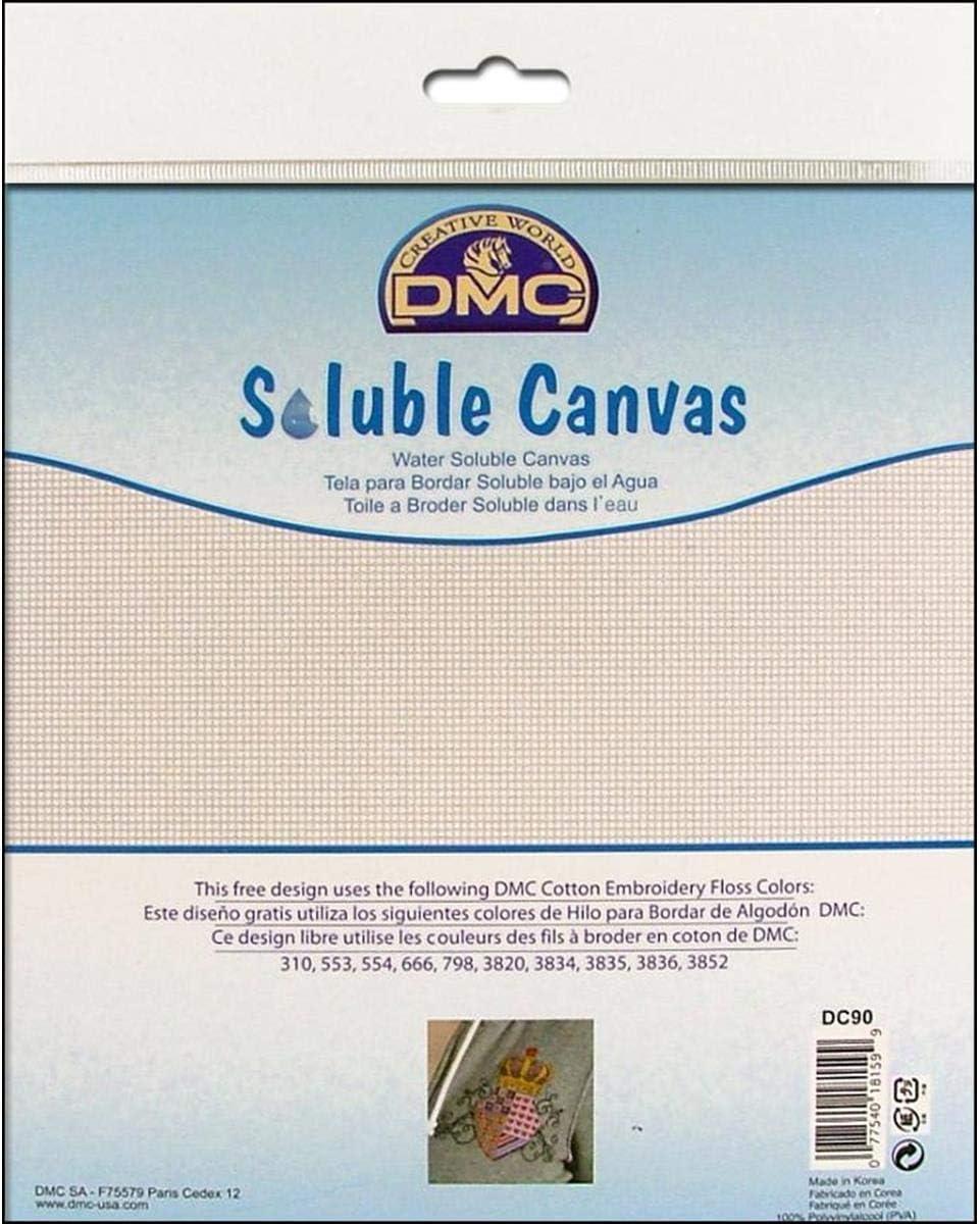 14 count DMC DC90 Soluble Canvas 20 x 22cm piece