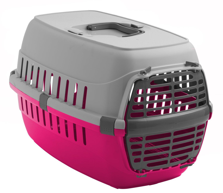 Cage de transport Heritage Skippa-Duo multicolore pour chat, chaton, chien, chiot et lapin Heritage Pet Products