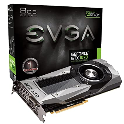 amazon com evga geforce gtx 1070 founders edition 8gb gddr5 led rh amazon com Introducing Graphic Guides Graphic Color Guide