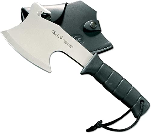 Muela-Hg-S, 11-Inch Ft Polymer Handle Tactical Hatchet Black Leather Sheath