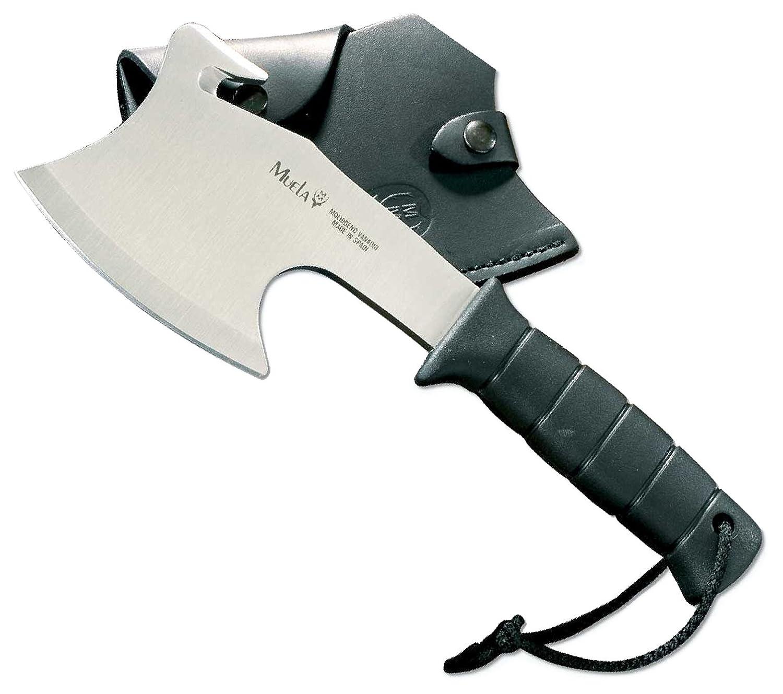 Muela-Hg-S, 11-Inch Ft Polymer Handle Tactical Hatchet (Black Leather Sheath) by Muela Tactical of Spain   B004XVKJOE