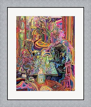 Amazon.com: 5 O\'clock Somewhere by Josh Byer Framed Art Print Wall ...