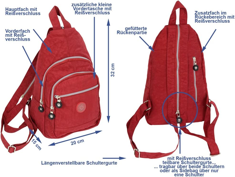 le sport Petit sac /à dos sportif tr/ès l/éger pour la ville le v/élo les voyages le trekking 6 couleurs 2257 la randonn/ée