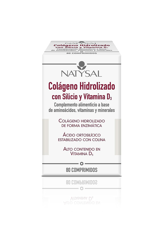 Natysal Complemento Alimenticio a Base de Aminoácidos - 80 Comprimidos: Amazon.es: Salud y cuidado personal
