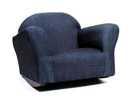 Amazon.com: KEET, sillón mecedor acolchado., Mecedora ...