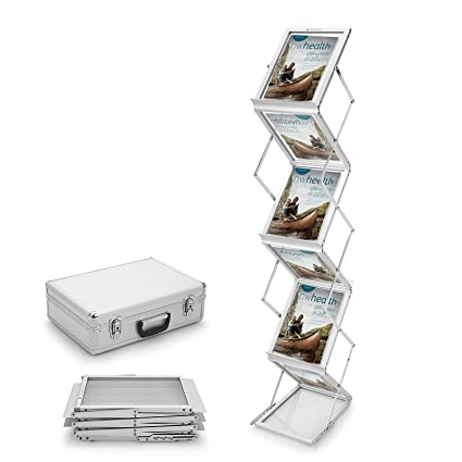 Exhibition Stand Shelves : Voilamart a folding brochure display stand section exhibition