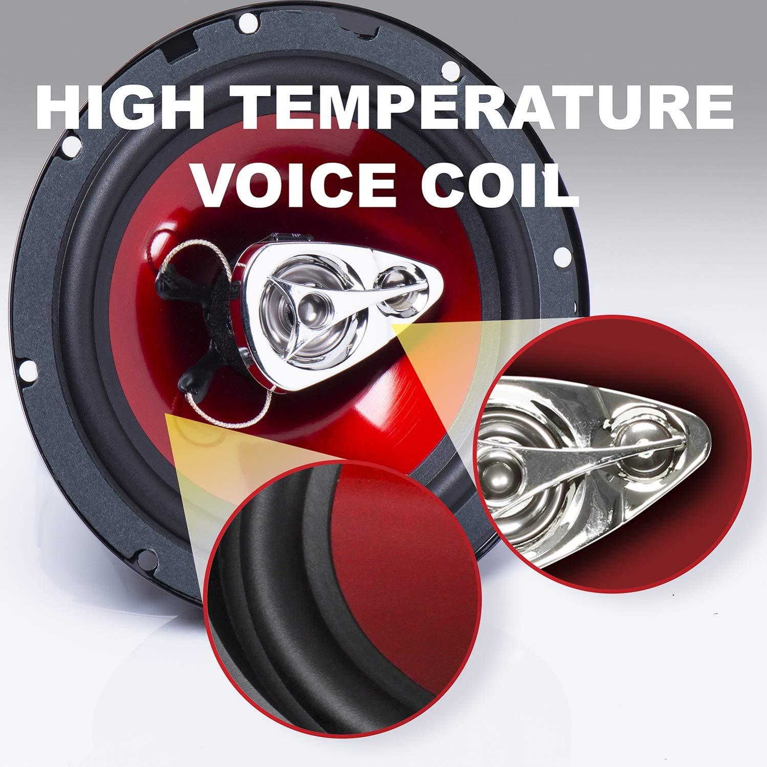 Amazon.com: BOSS Audio Caos Exxtreme de altavoces coaxiales ...