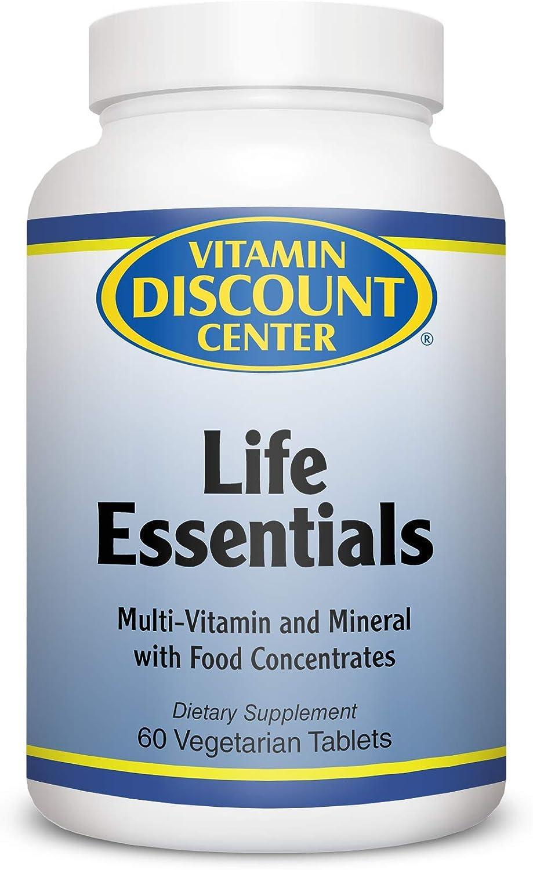 Vitamin Discount Center Life Essentials Multivitamin, 60 Tablets