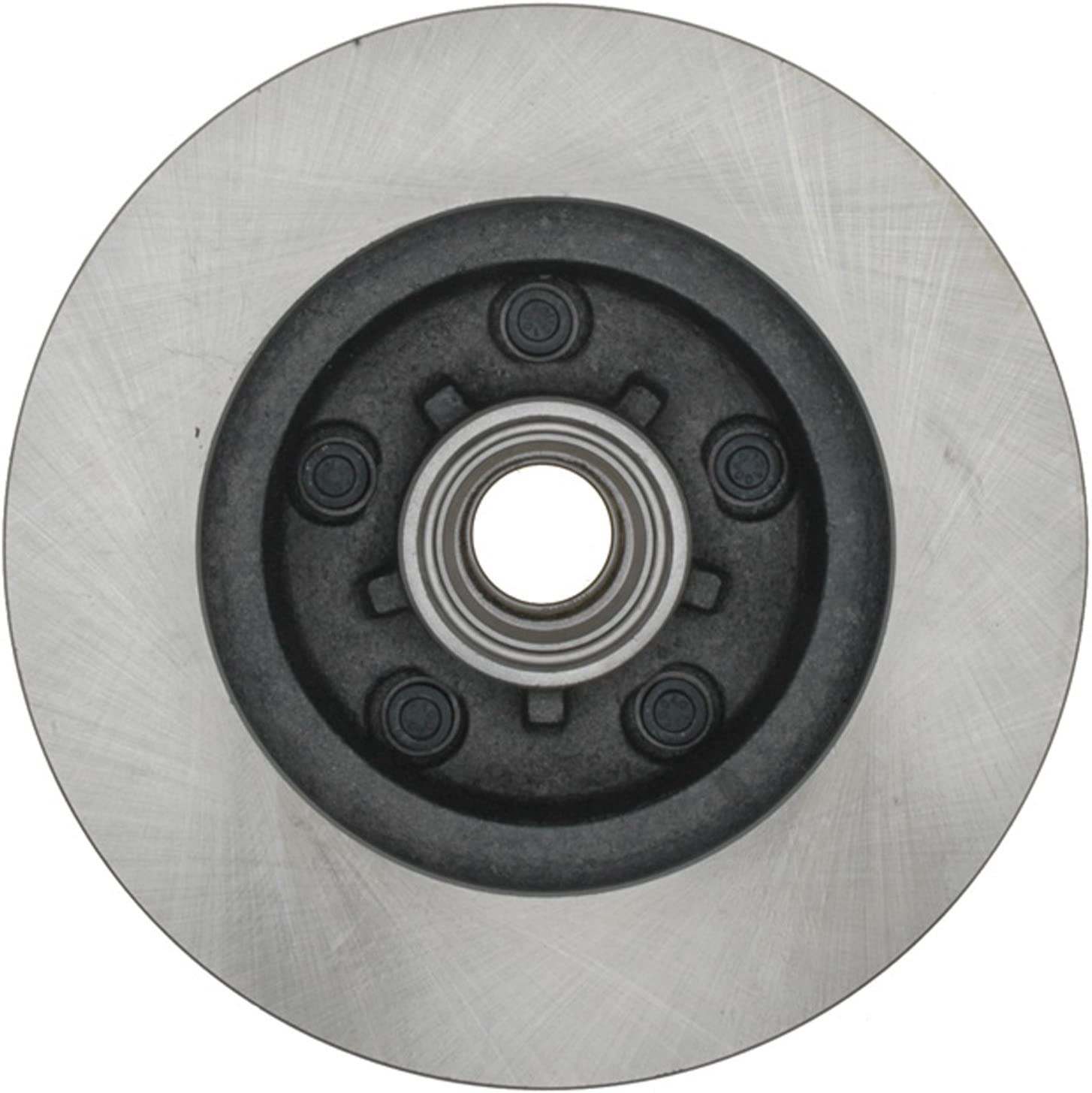ACDelco 18A57A Advantage Non-Coated Front Disc Brake Rotor and Hub Assembly