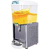 SUNCOO Juice Dispenser Beverage Commercial Smoothie Maker Slushy Making Machine with Spigot Drink Dispenser
