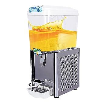 SUNCOO- Dispensador de bebidas de zumo comercial, bebidas frías, frutas, hielo, té: Amazon.es: Hogar