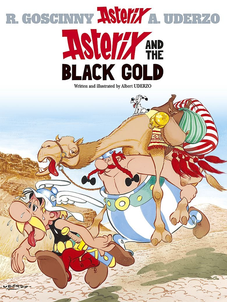 Asterix and the Black Gold: Album #26 (Asterix (Orion Paperback))