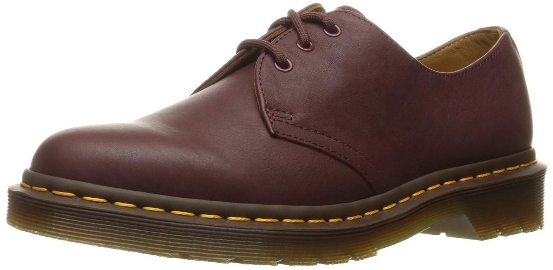 Dr.Martens Womens 1461 3 Eyelet Virginia Leather Shoes 36 EU|Rojo