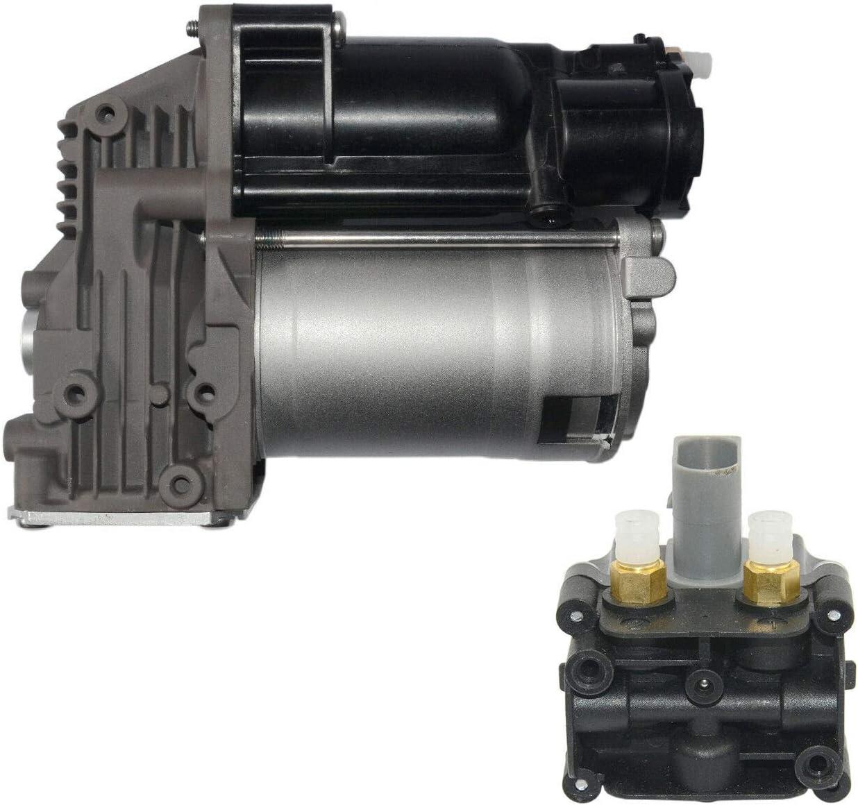 SCSN Bomba de compresor de suspensi/ón neum/ática con v/álvula 37206792855 37106793778