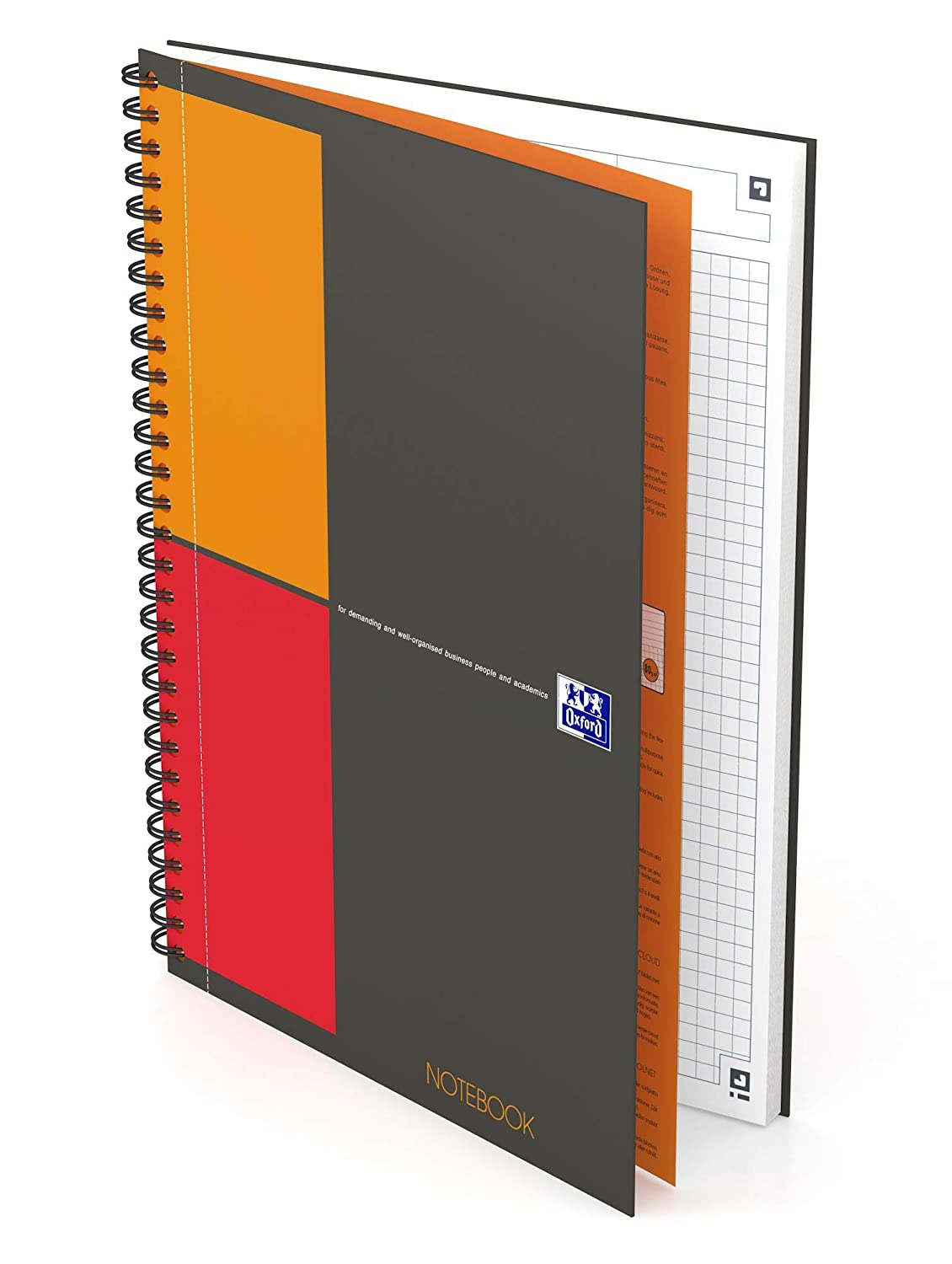 Amazon.com : Oxford International - Pack of 5 Notebooks ...