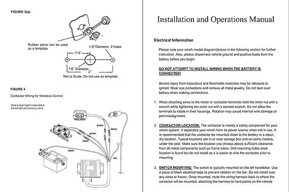 amazon com: podoy winch solenoid 12v for polaris 800 1000 utv suv thumb  rocker 12v with combo wiring rocker relay trailer hydraulic pump lift atv: