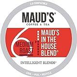 Maud's Medium Dark Roast Coffee (In The House Blend), 100ct. Solar Energy Produced Recyclable Single Serve Medium Dark Roast