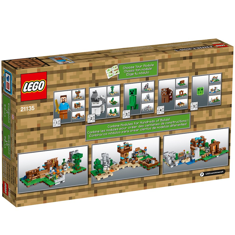 Lego minecraft the crafting box 2 0 for Crafting and building 2
