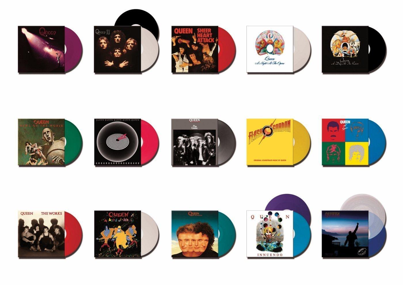 Complete Studio Album Vinyl Collection : Queen: Amazon.es: Música