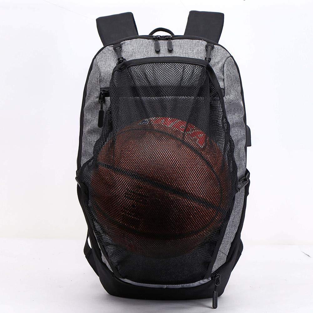Class-Z Sportrucksack Schulrucksack kratzfester und strapazierfähiger Notebook-Backpack mit USB-Ladeschnittstelle
