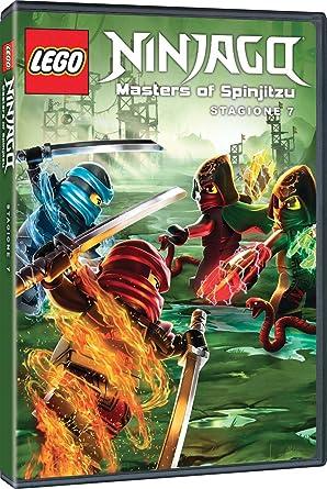 Lego ninjago stagione 7 2 dvd : amazon.it: michael egner; justin