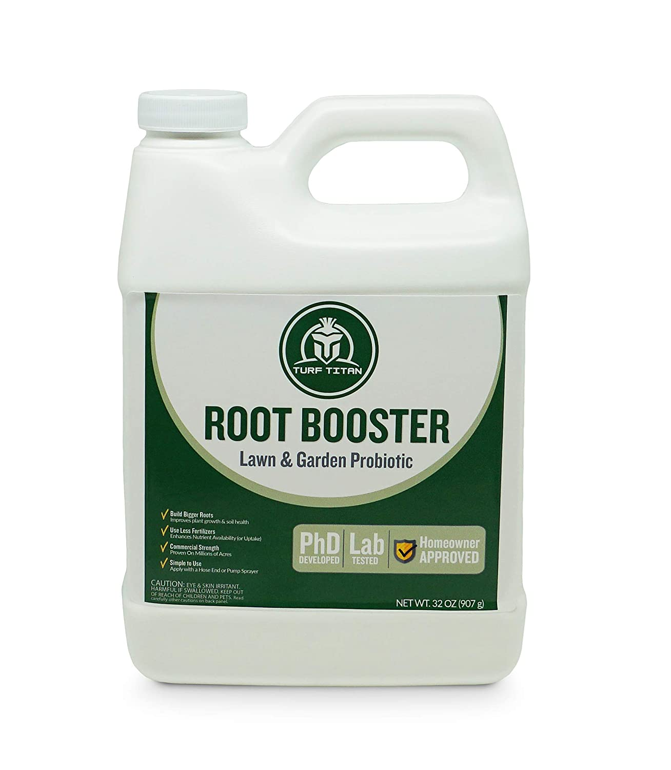 Root Booster by Turf Titan - Lawn & Garden Probiotic 32 oz