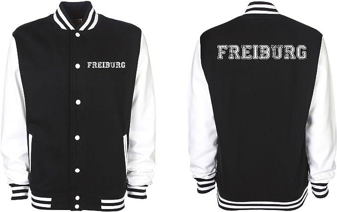 Shirt Panda College Jacke Freiburg Baseball Jacke Damen
