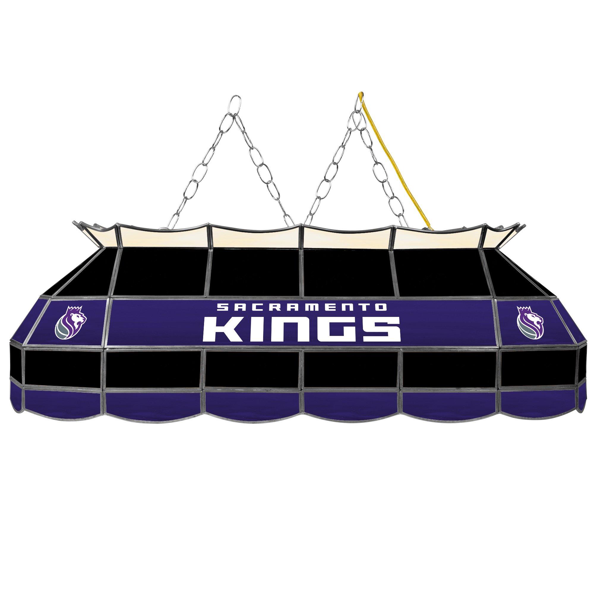 NBA Sacramento Kings Tiffany Gameroom Lamp, 40'' by Trademark Gameroom